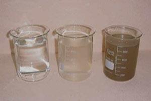 Efeito da qualidade da água no concreto