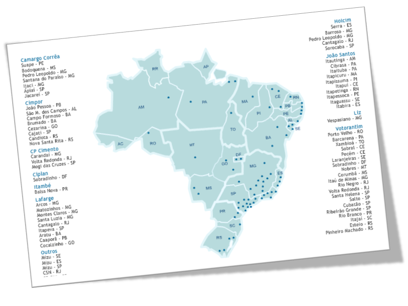 Cimento no Brasil