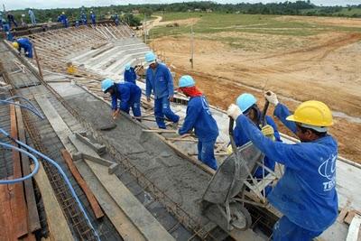 Vendas de cimento continuam aquecidas em novembro de 2010