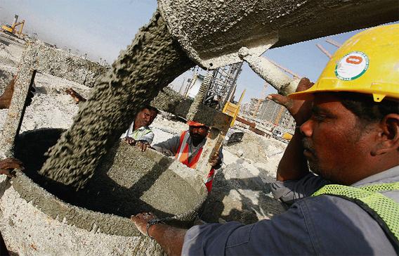Arábia Saudita: Vendas de cimento crescem 3% em 2014.