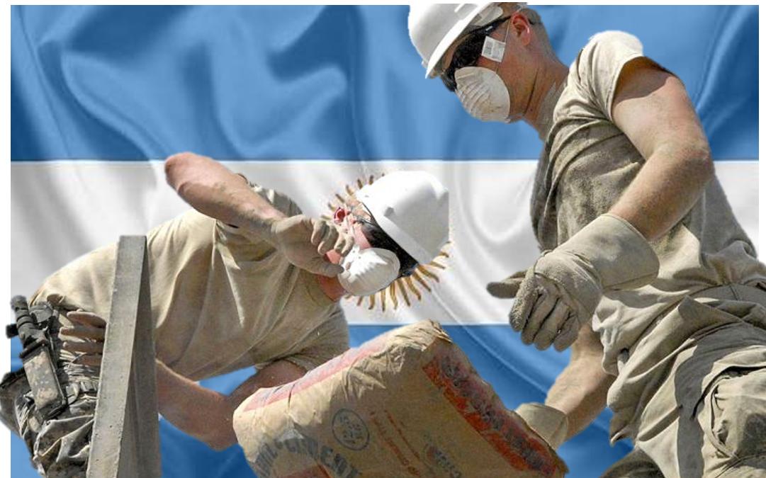 Cimento na Argentina: Queda de 46,5% em março.